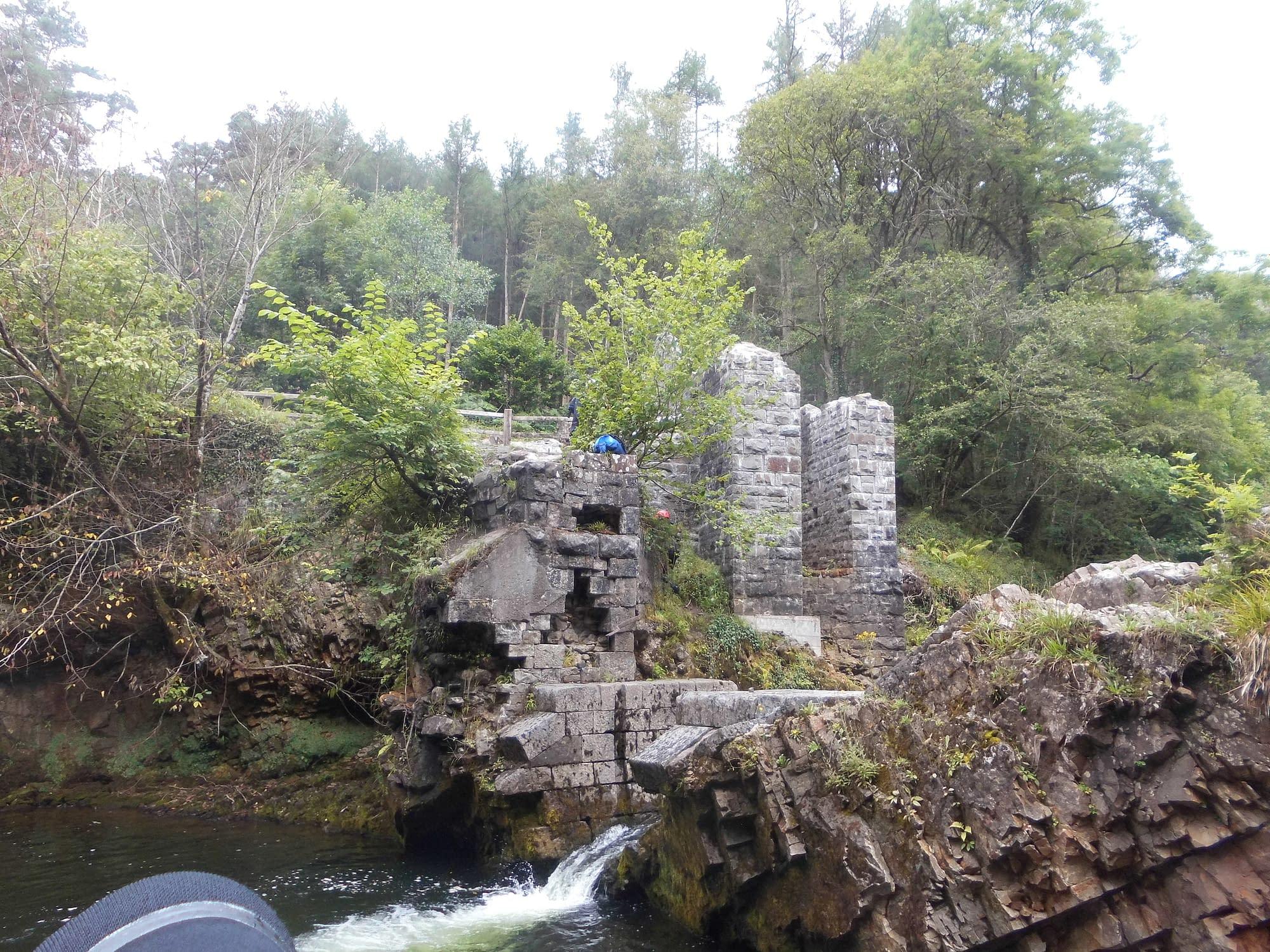 An old bridge on the River Sychryd (Afon Sychryd)