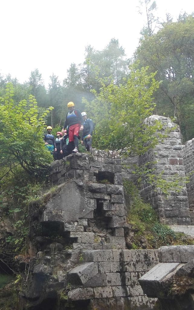 Outdoor activities include taking on 'Loonies Leap'