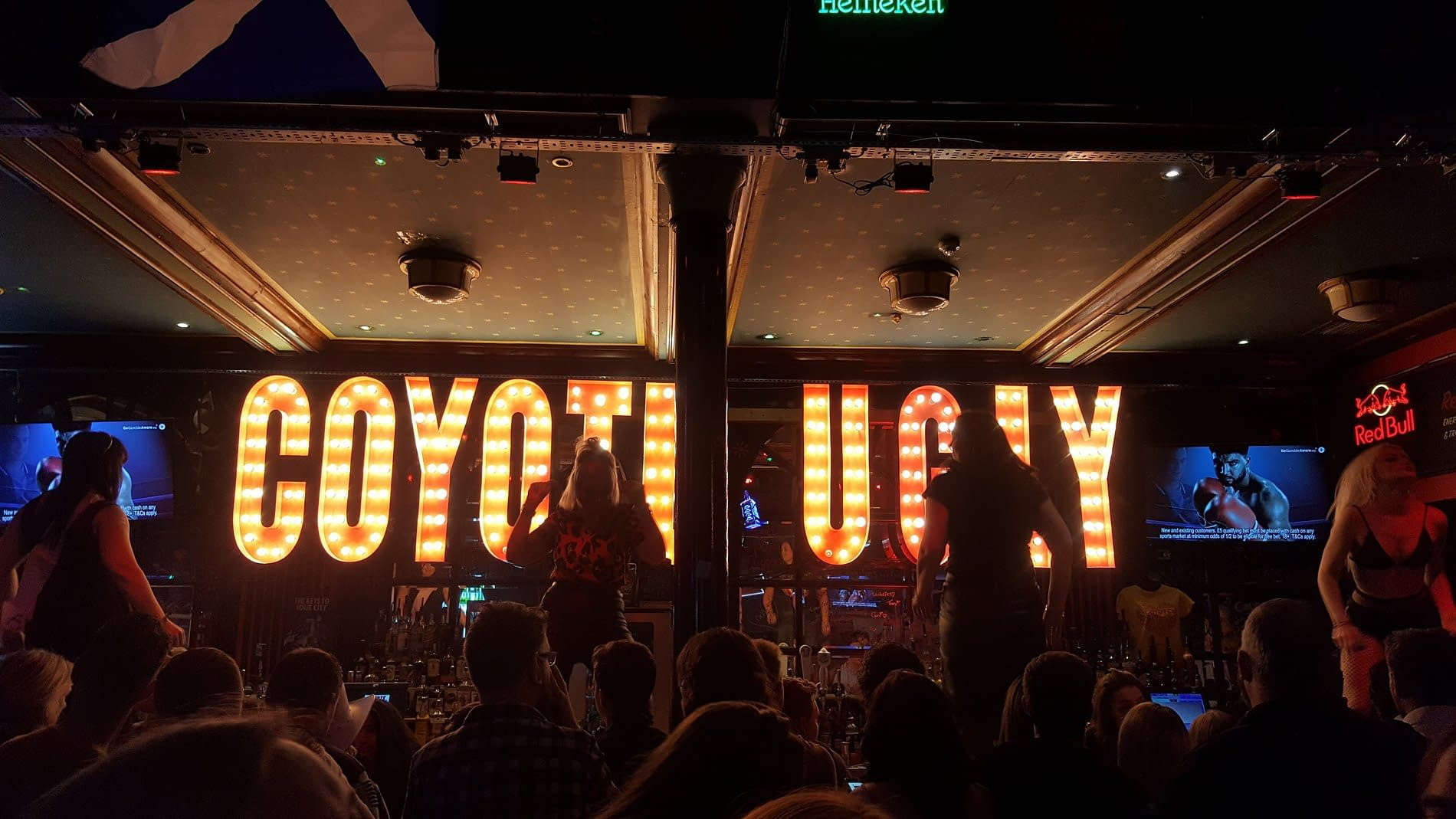 Stag Parties welcome at Coyote Ugly Cardiff