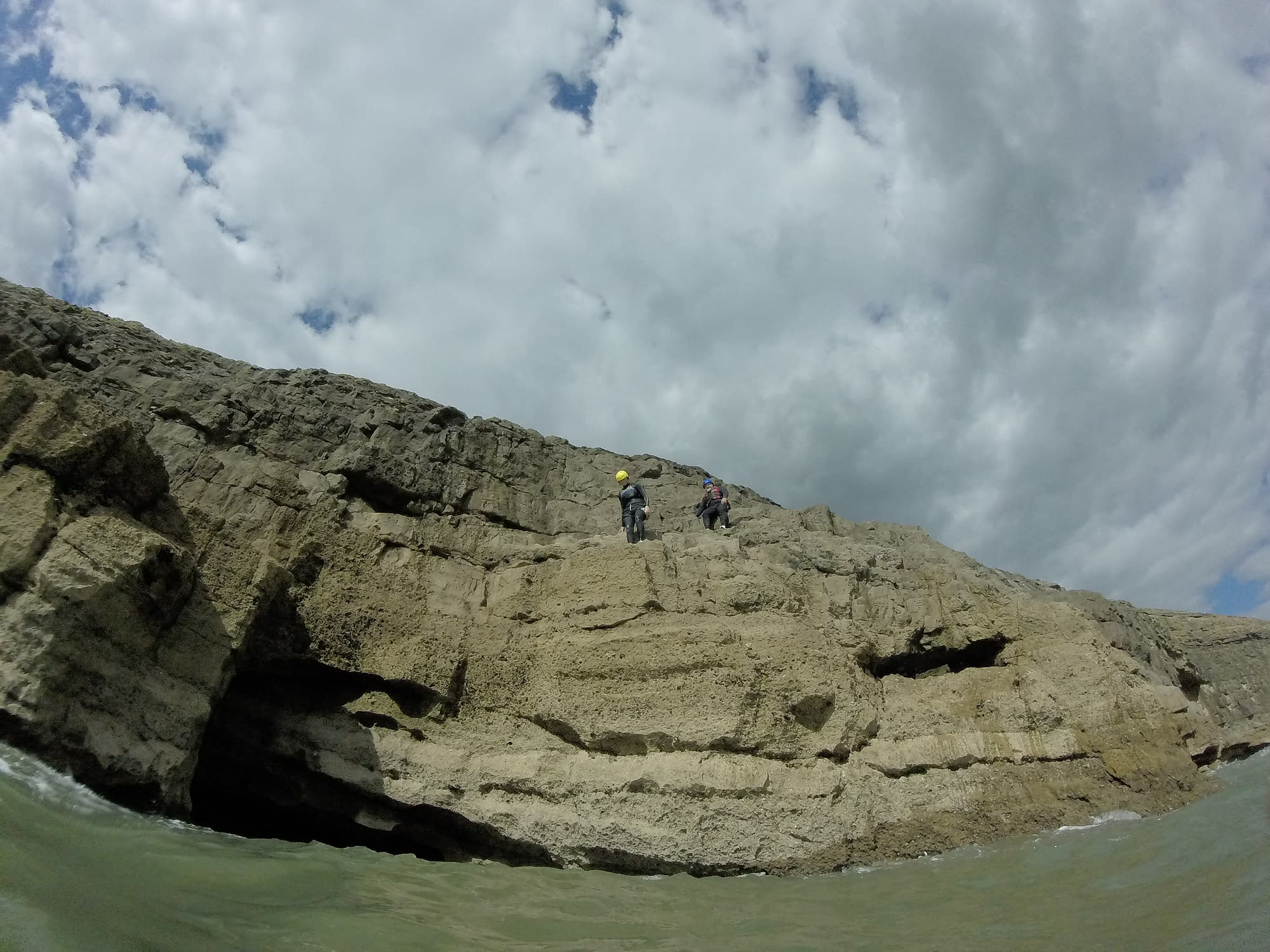 South Wales' rugged coastline is perfect for coasteering